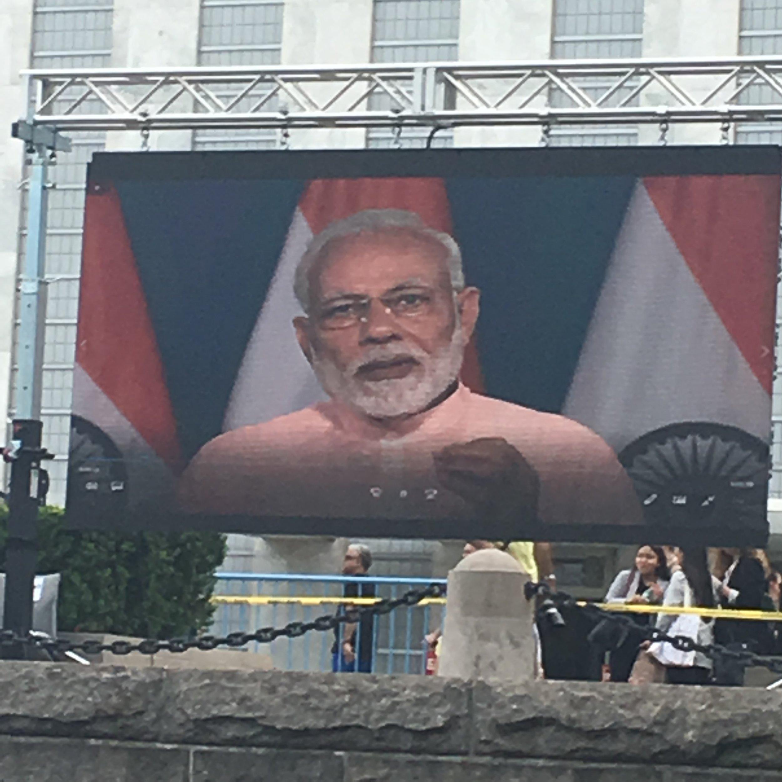 Prime Minster Modi
