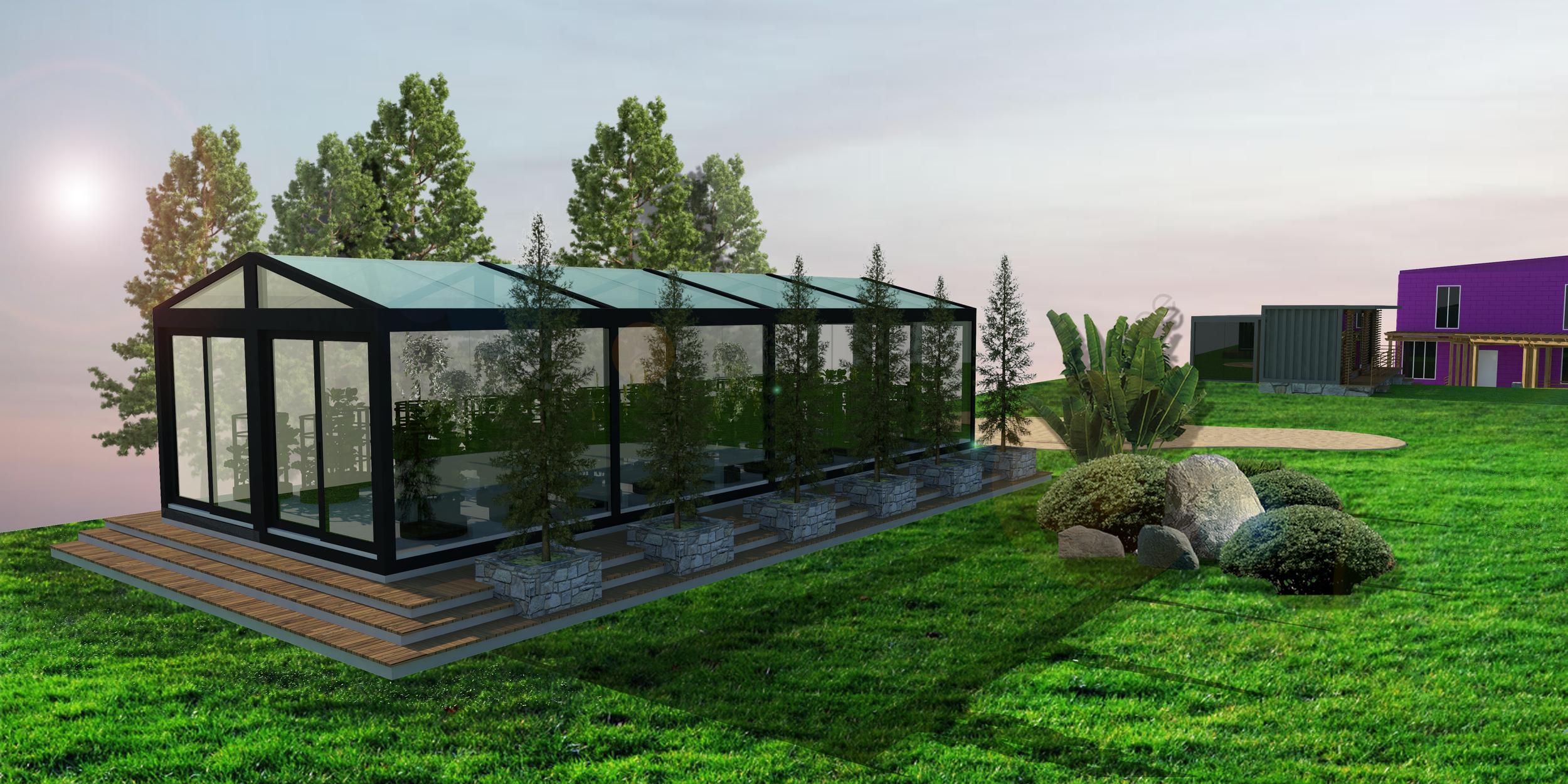 Huey's Greenhouse - Garden Towers