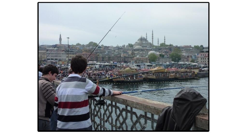 The Amazing Stroll: Bosphorus strait landscape