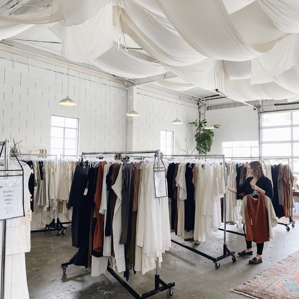 Live Shoot Location #2 - We'll be transforming this space in the Elizabeth Suzann warehouse (but leaving those ceiling drapes because duh!) and utilizing the light from those giant windows and garage door. We'll create an elegant, high-fashion + wedding inspired shoot for you to test your skills and enhance your portfolio. Don't forget, the images are yours to keep and use them however you'd like! If you took the shots and edited yourself, feel free to submit them anywhere!