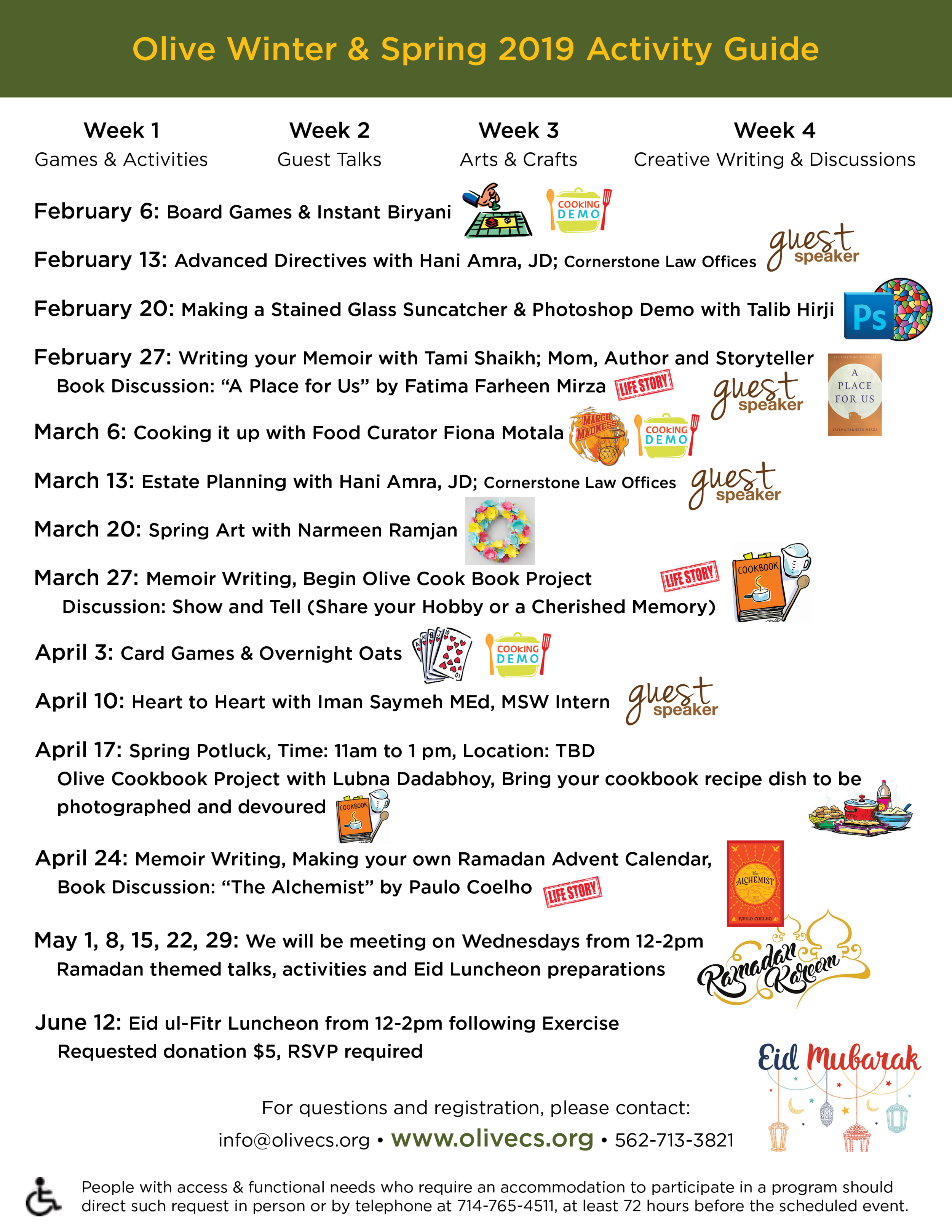 LLT Flyer_Winter & Spring 2019 Activities.png