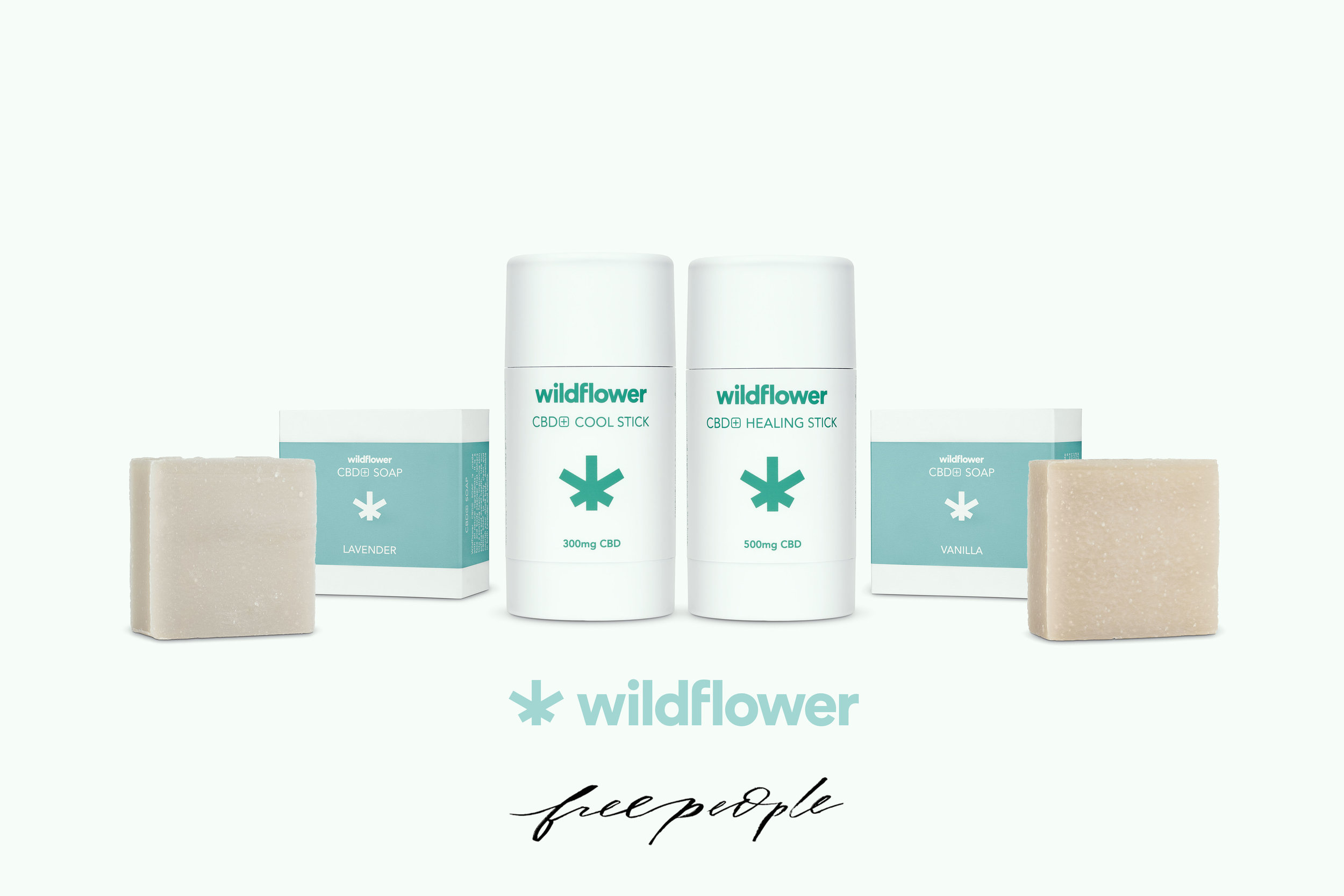 Wildflower's botanical wellness line up is now available online at  freepeople.com .