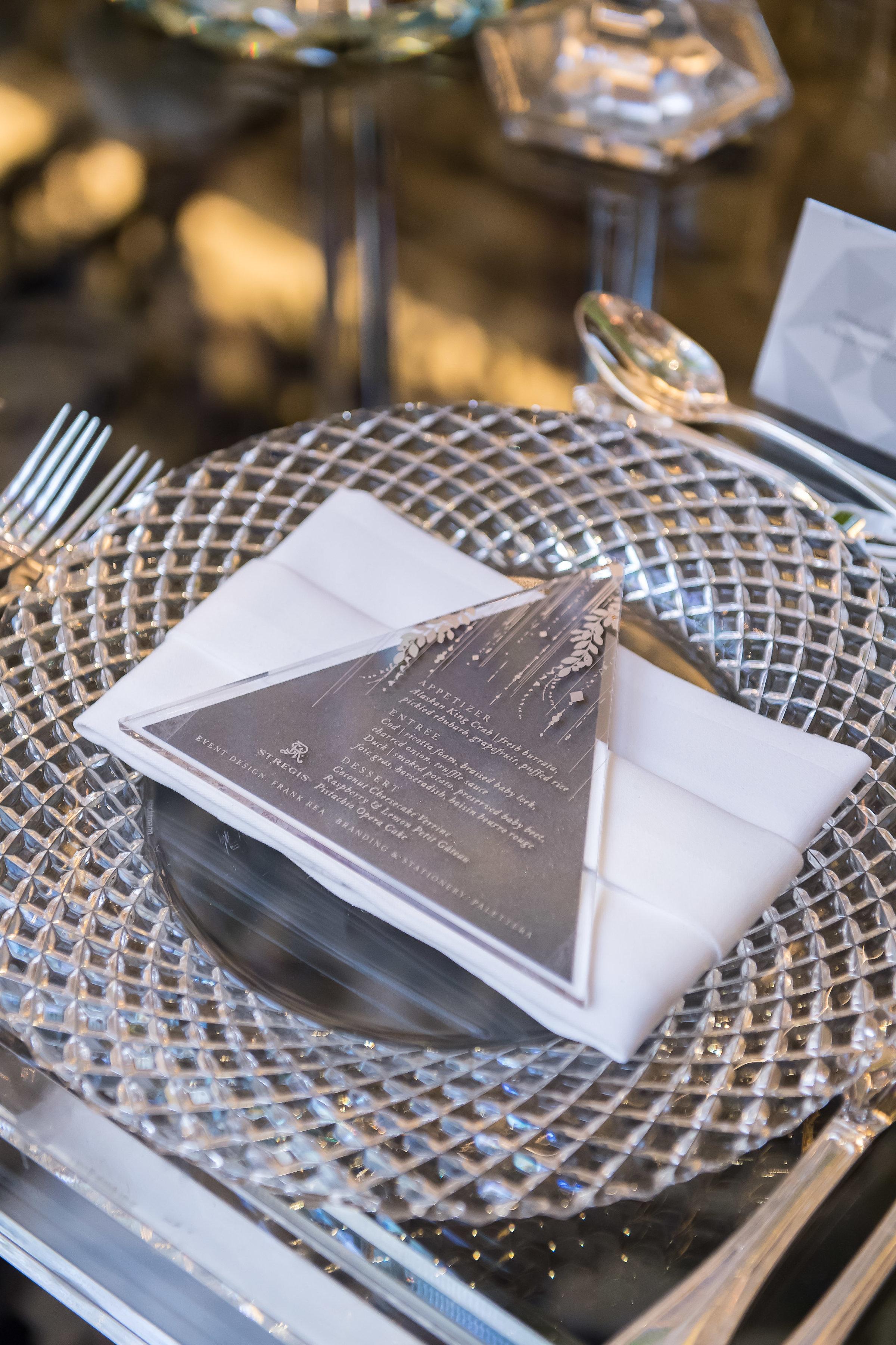 St. Regis | Exclusive Dinner