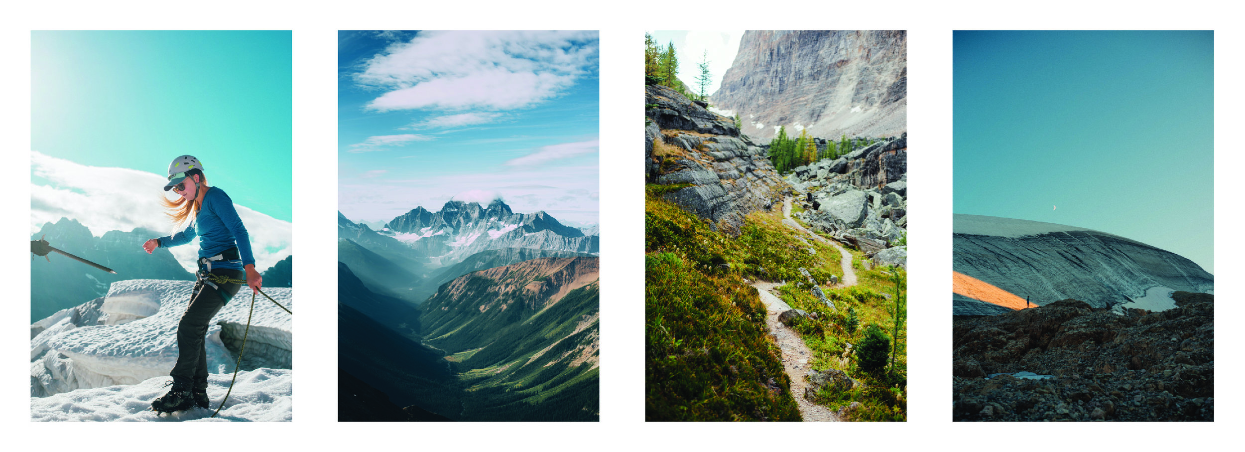 Canadian Rockies composite by Hailey