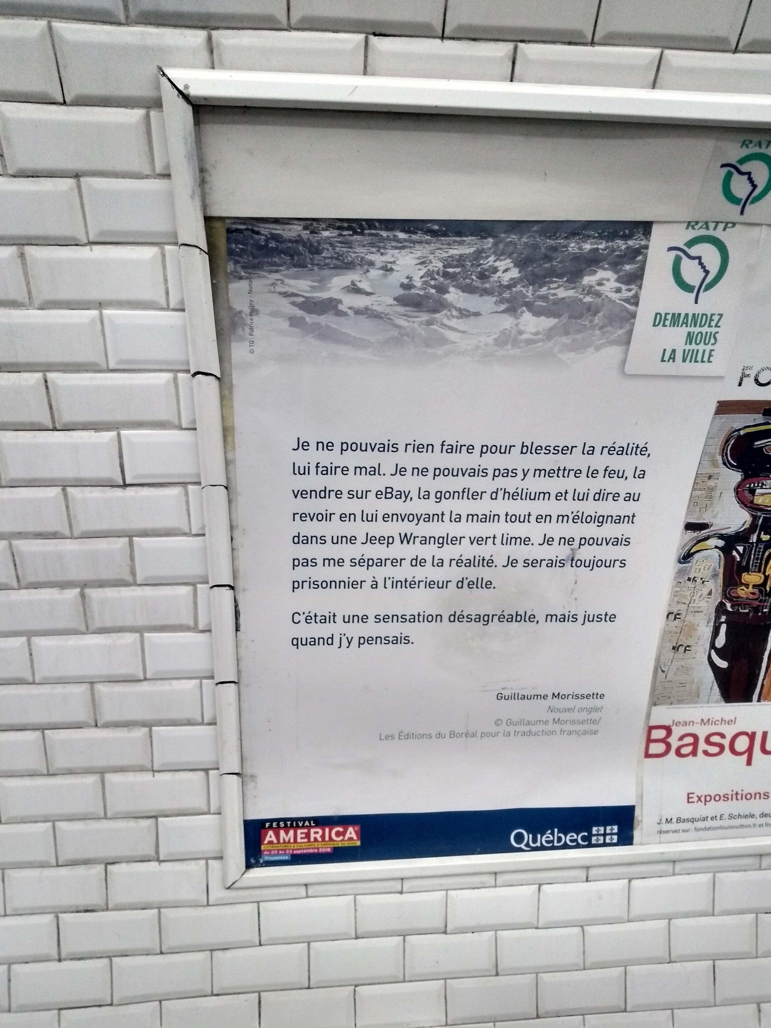 Belleville métro, Paris