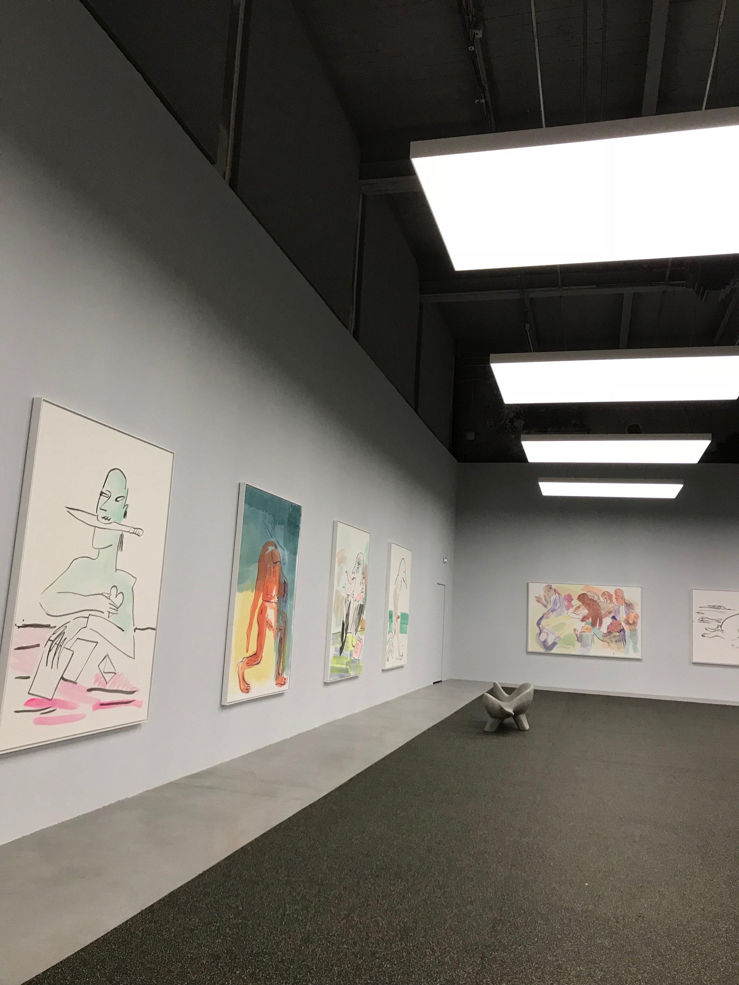 Camille Henrot's    Wednesday room   , Palais de Tokyo, 2017