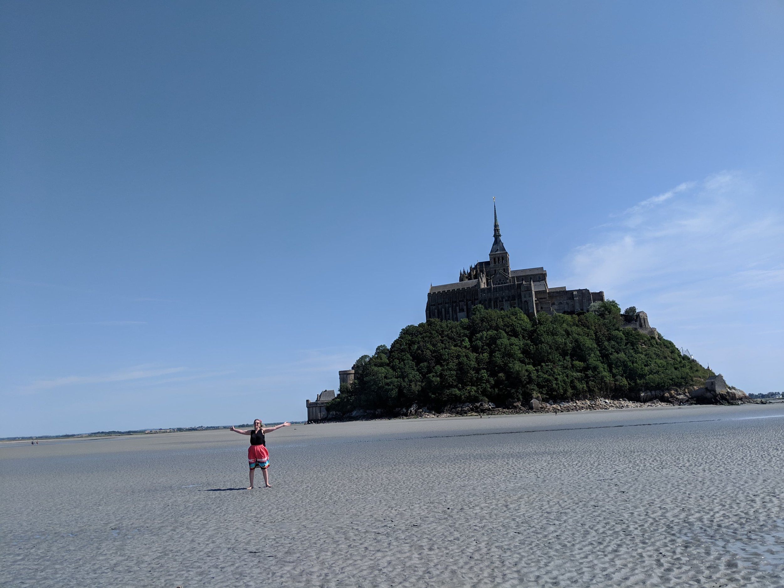 Grace at Mont Saint Michel