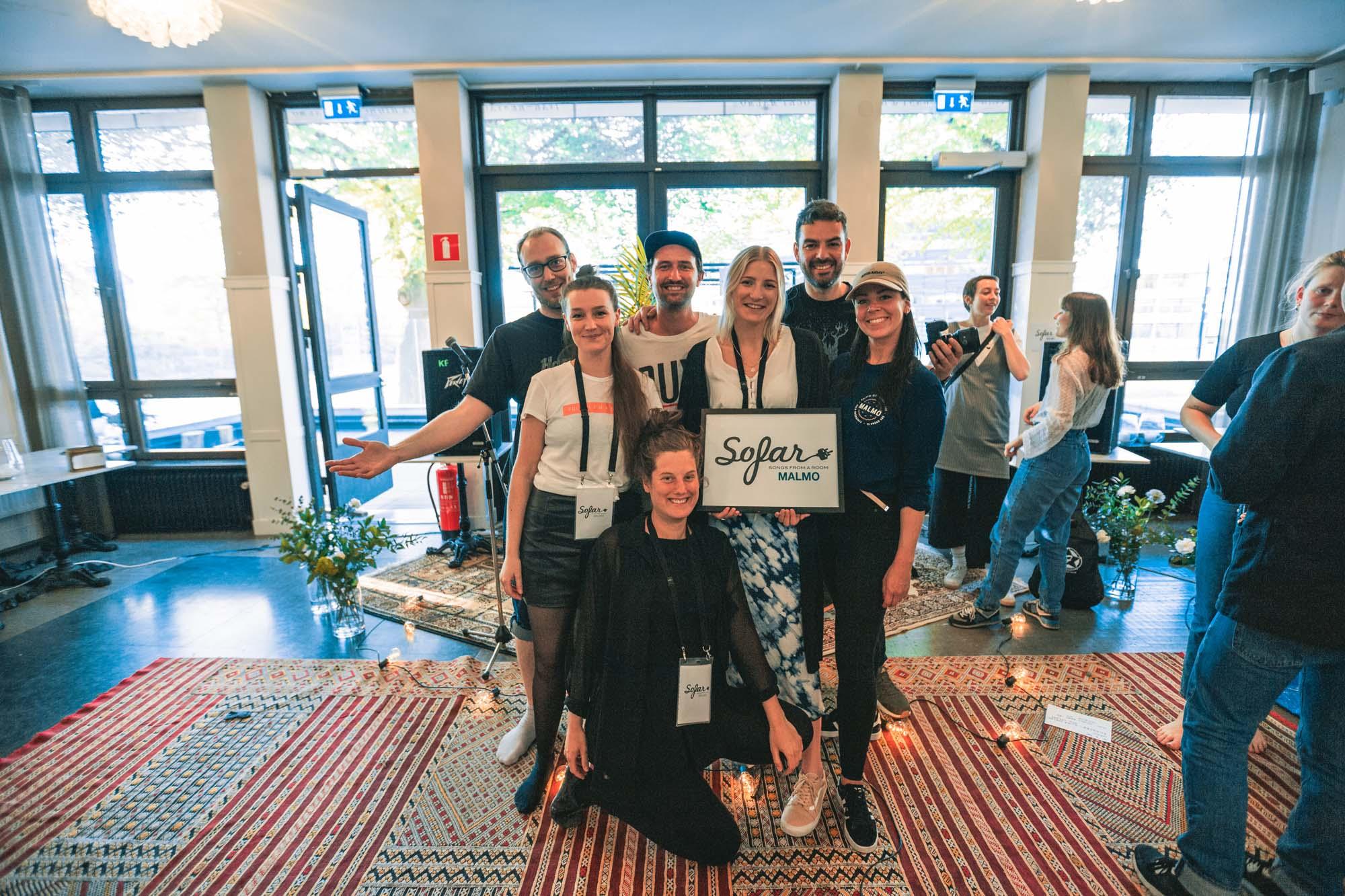 Sofar Sounds Malmö - Ongoing collaboration since August 2018