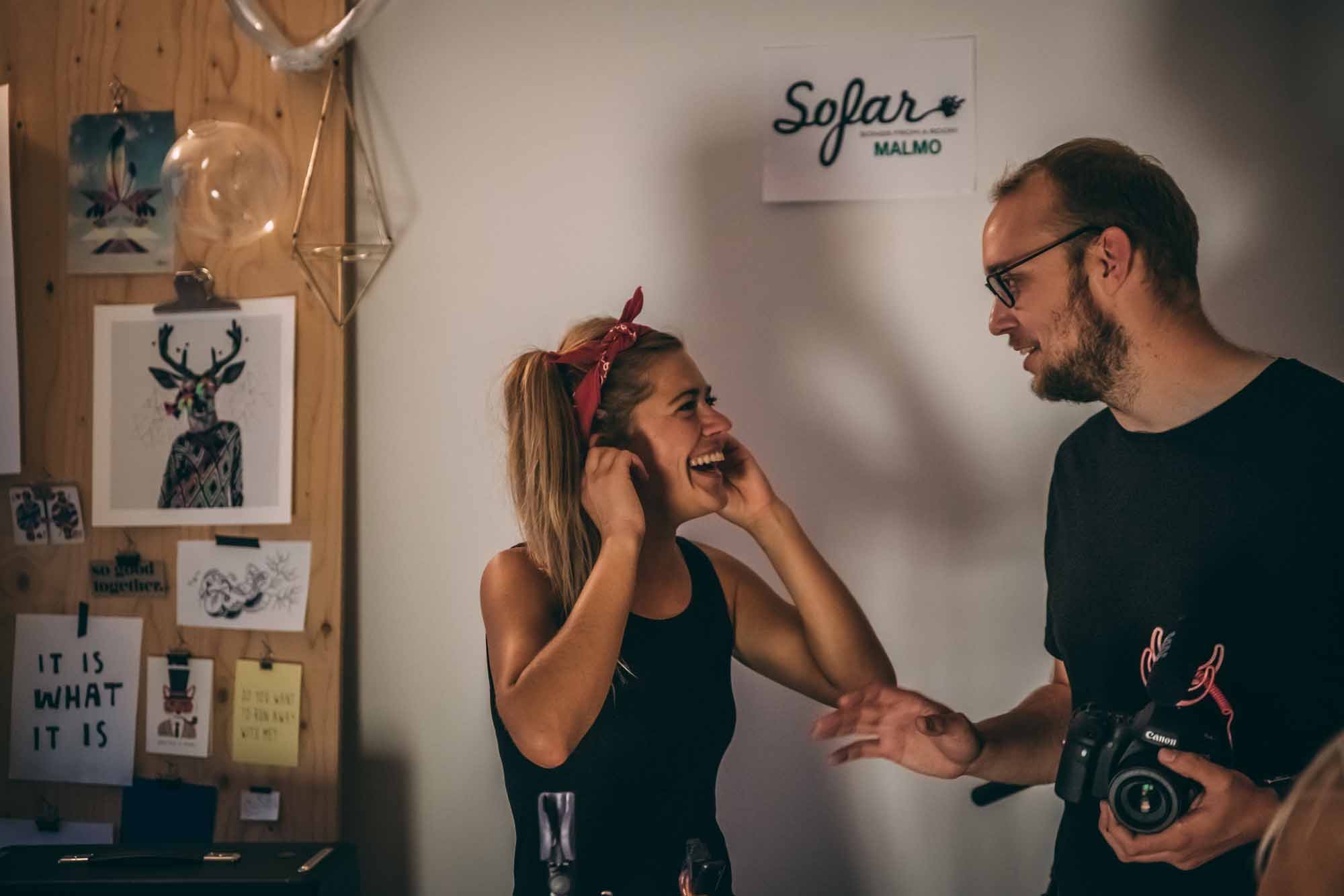 2018 - August - Sofia Landgren, Torsi, Windows & Stones
