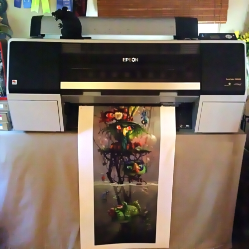 ONE OF OUR EPSON PRINTERS - SC P6000