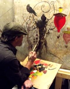 Rick's paintings