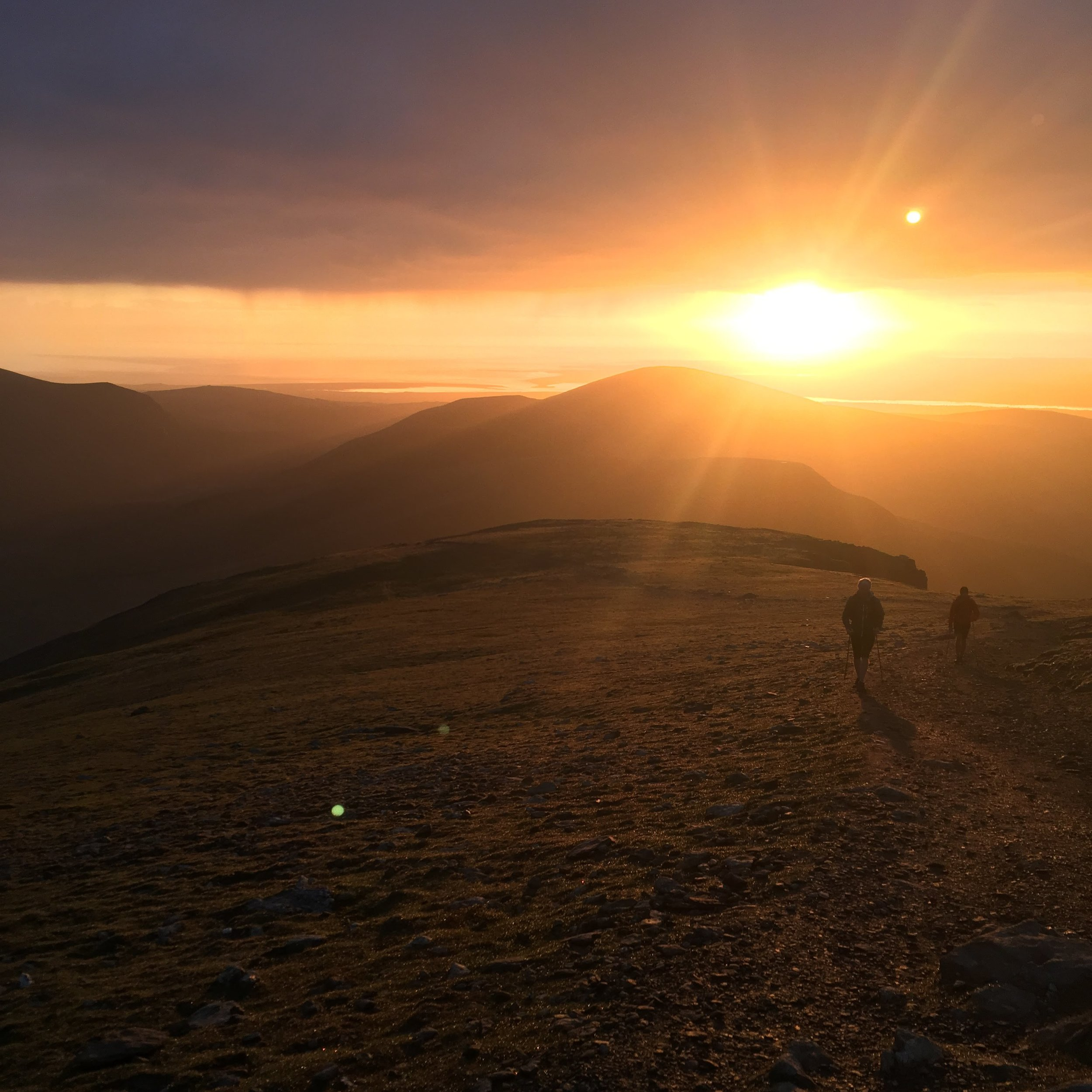 Going up Snowdon (again) and into the second night