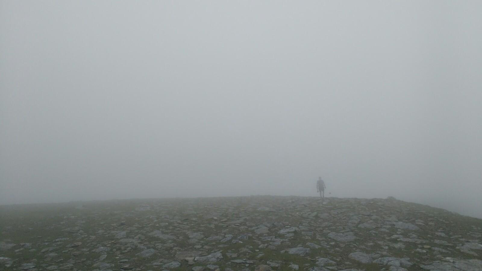 Somewhere on the Carneddau