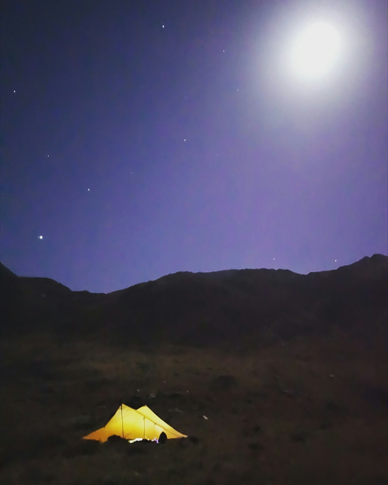 Fastpacking in Wales, Snowdonia with the MLD Trailstar