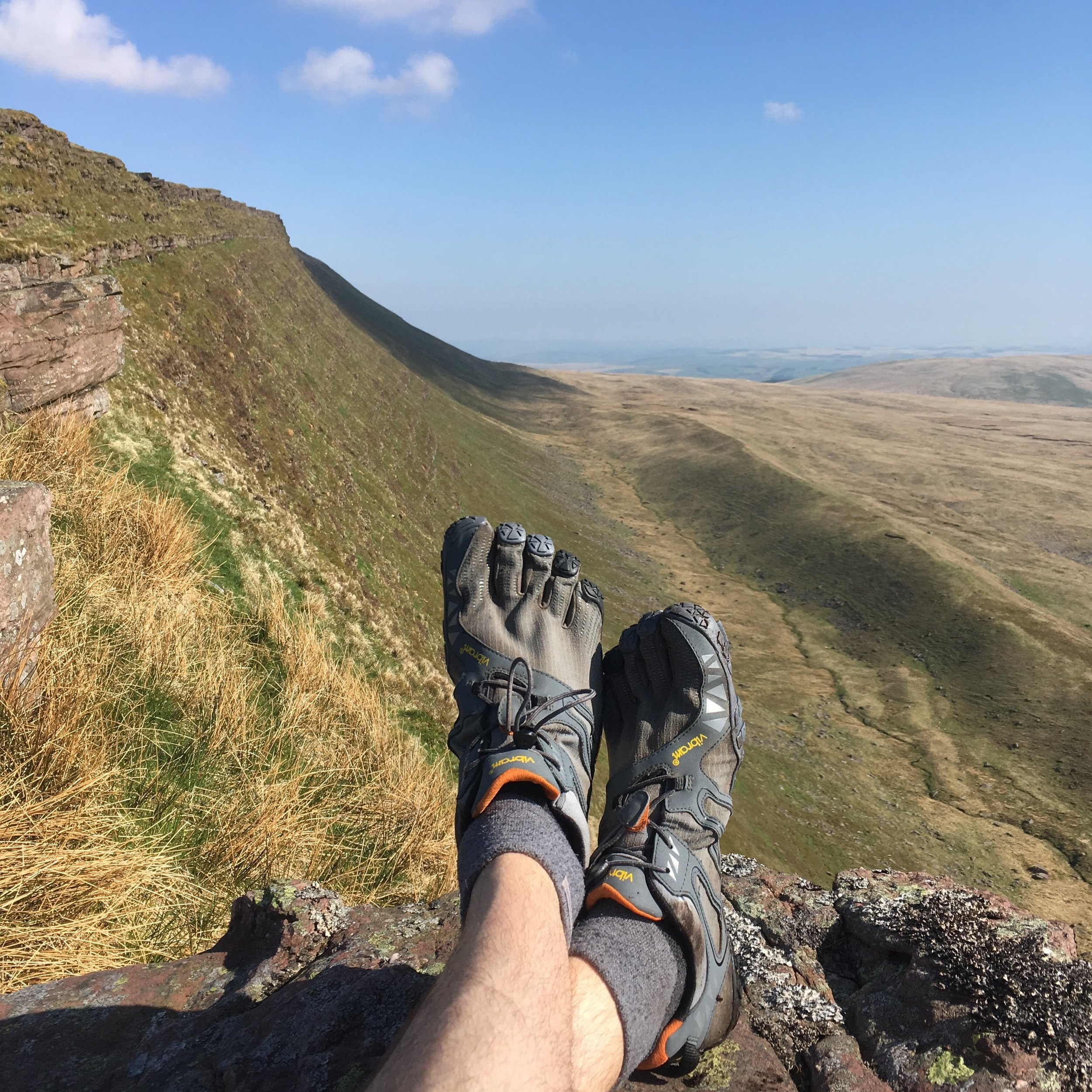 Yes, you can hike in Vibram FiveFingers