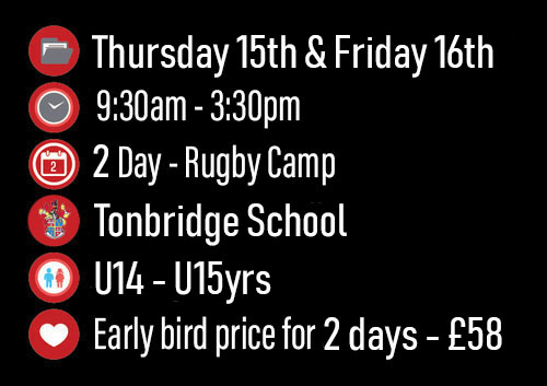 *Early bird price only available up until Friday 27th June 2019, £30 a day after that - Pick clothing sizes in booking form.