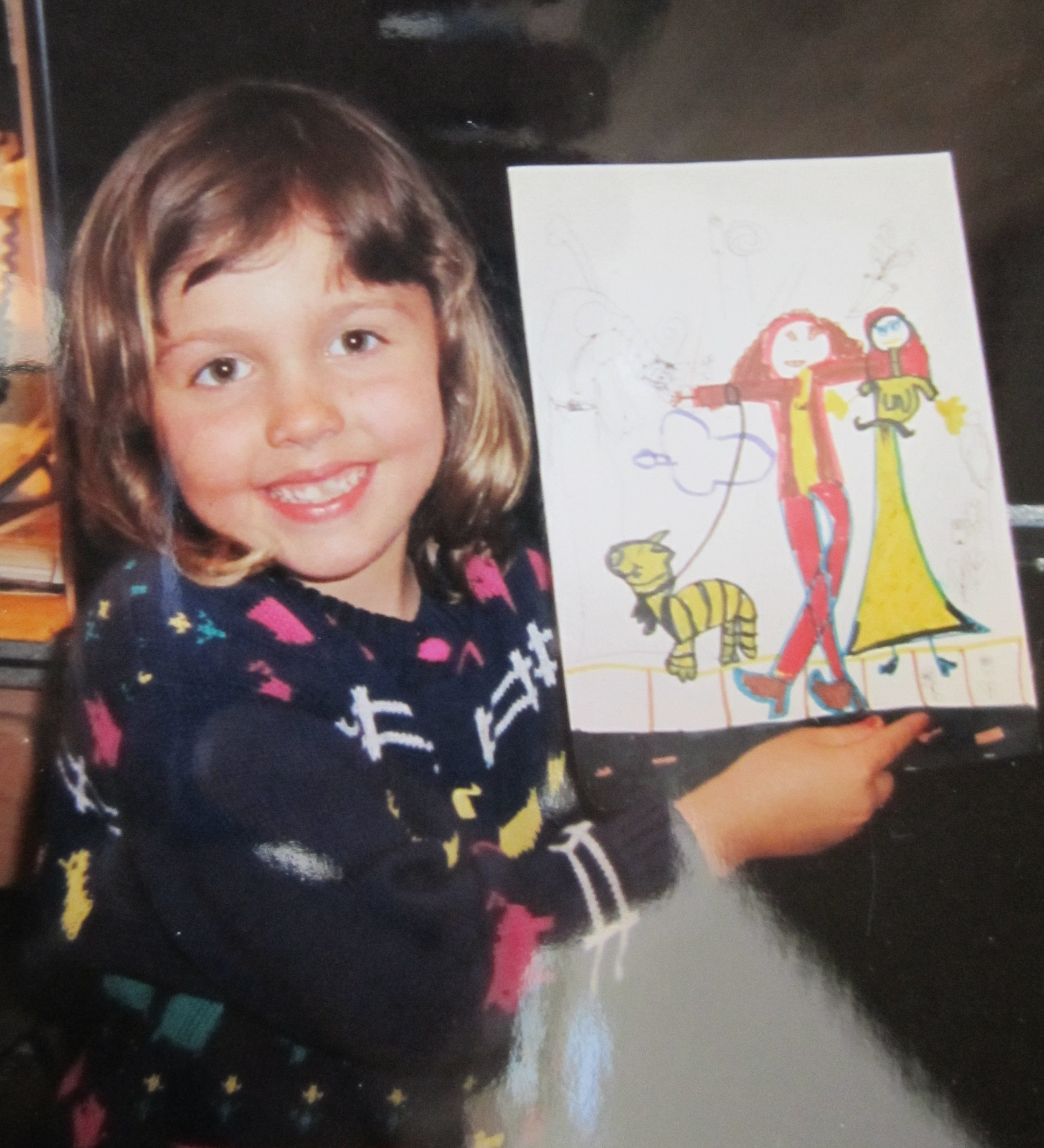 5 years old and not a clue art was just my little oasis that I rarely let the world know that much about.