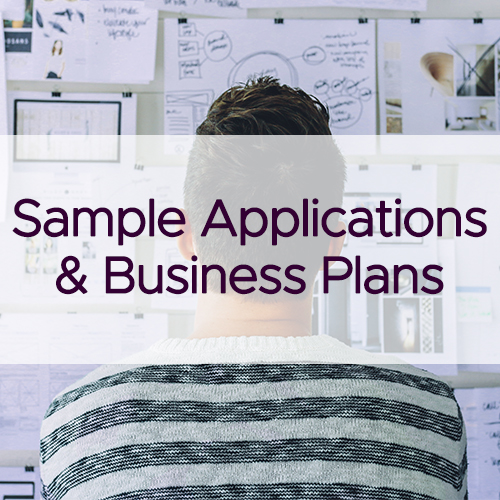 Sample Applications and Business Plans