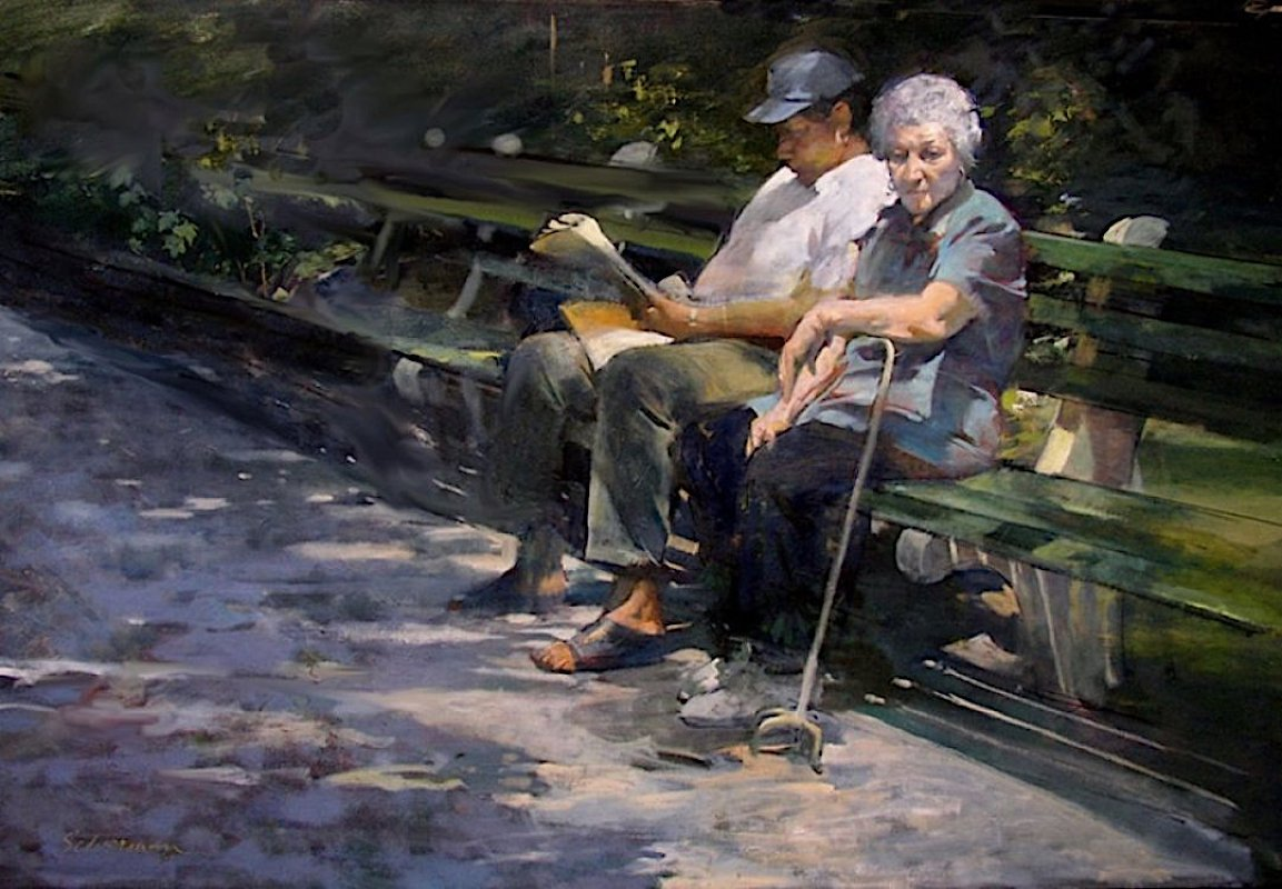 Park Bench, 2003