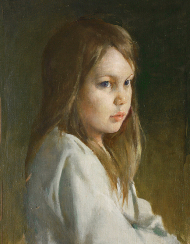 A little girl, 2014