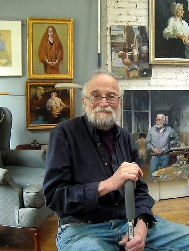 In Burt's NY Studio -