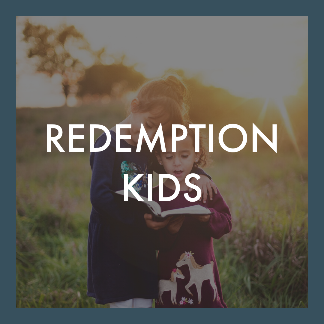 - We provide Children's Ministry for kids ages 4-12 during the service where they are taught God's Word at their level. Once a month (typically the 3rd Sunday) is Family Worship Sunday and we keep the kids in the service. You are always welcome to send your kids to Redemption Kids or keep them with you.