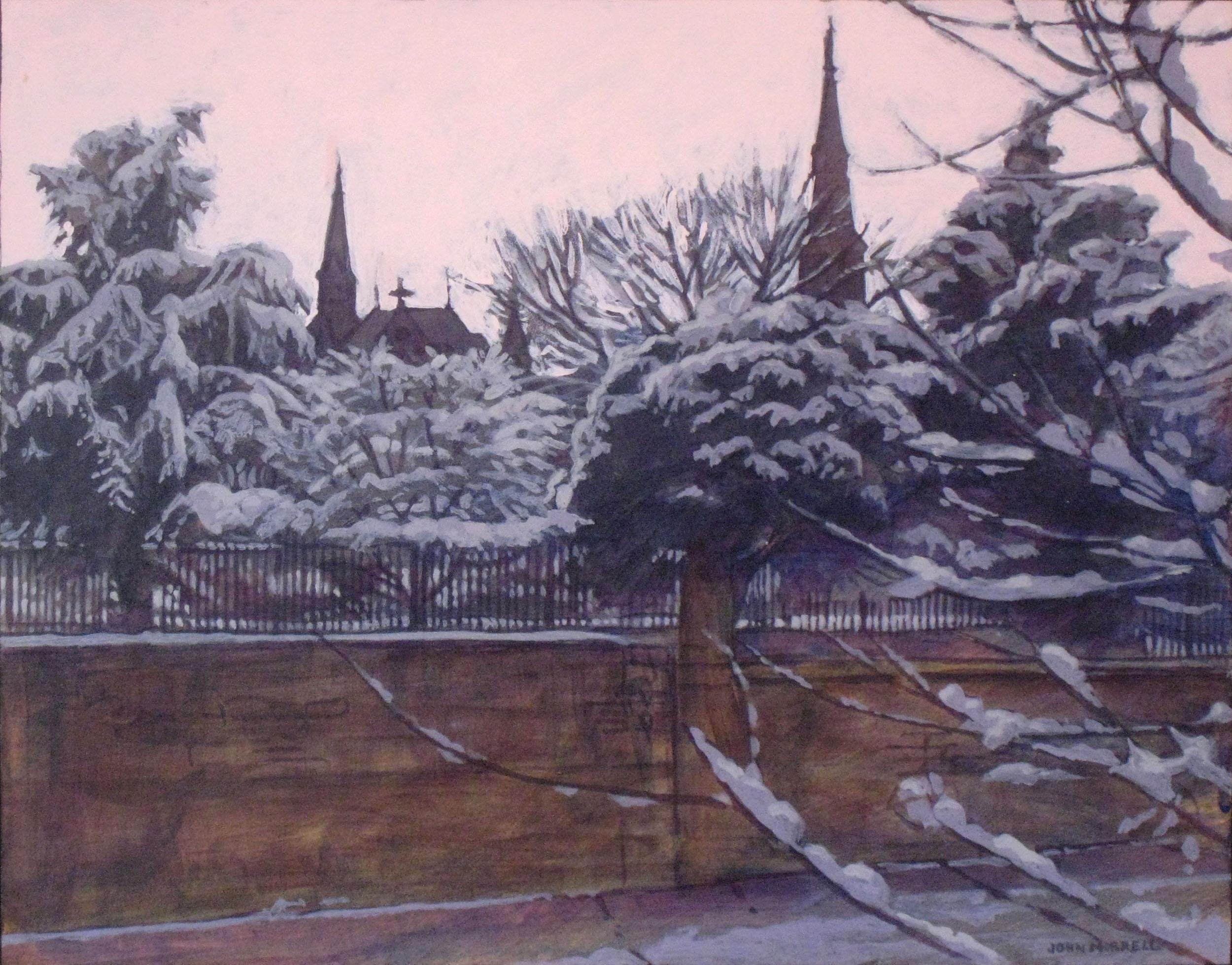 Hilltop Snow