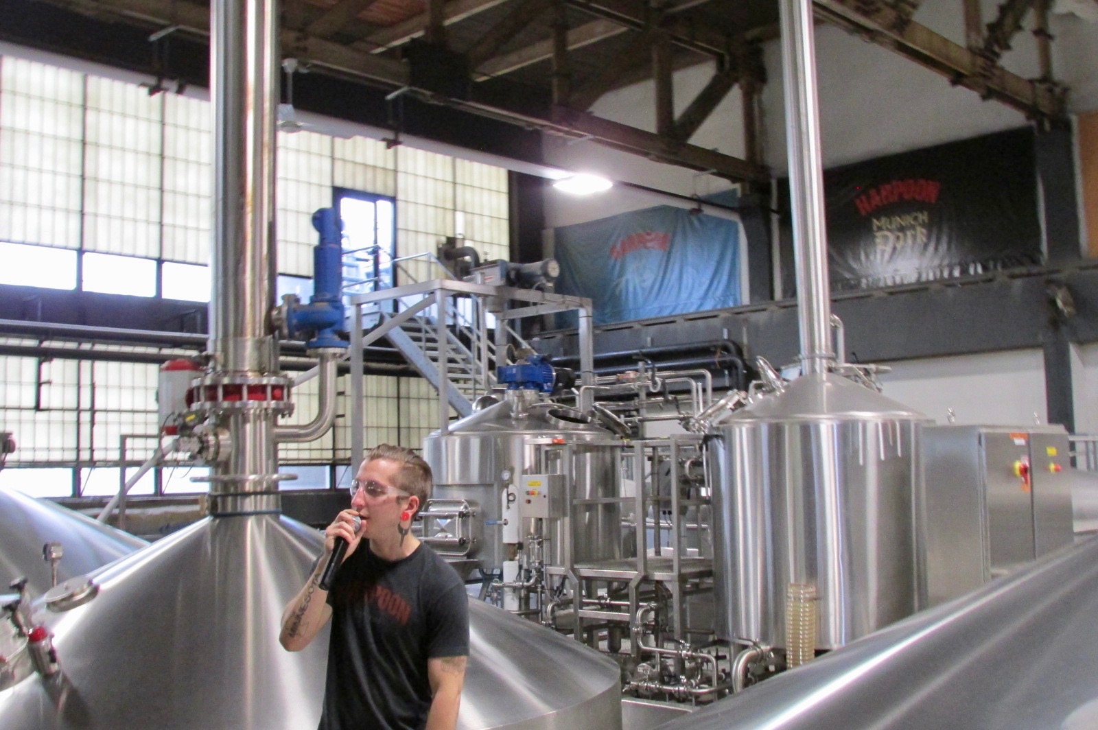 Employee-Led Tour of Harpoon Brewery