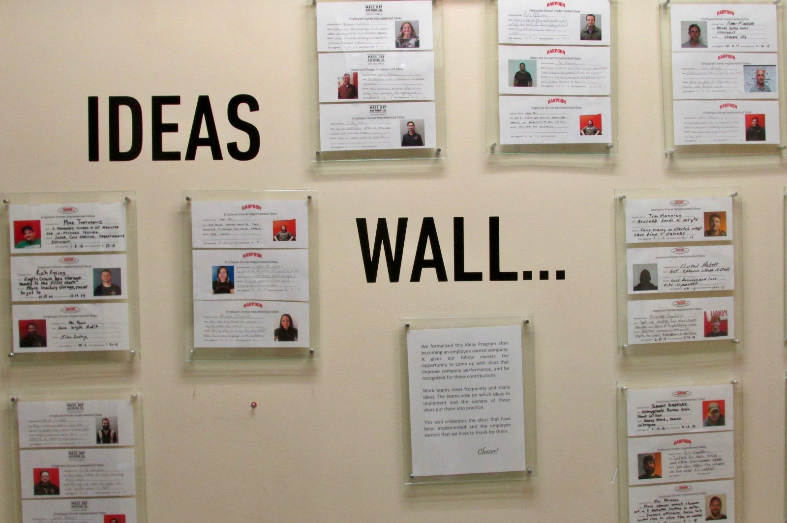 Recognizing Employee Ideas That Have Been Implemented