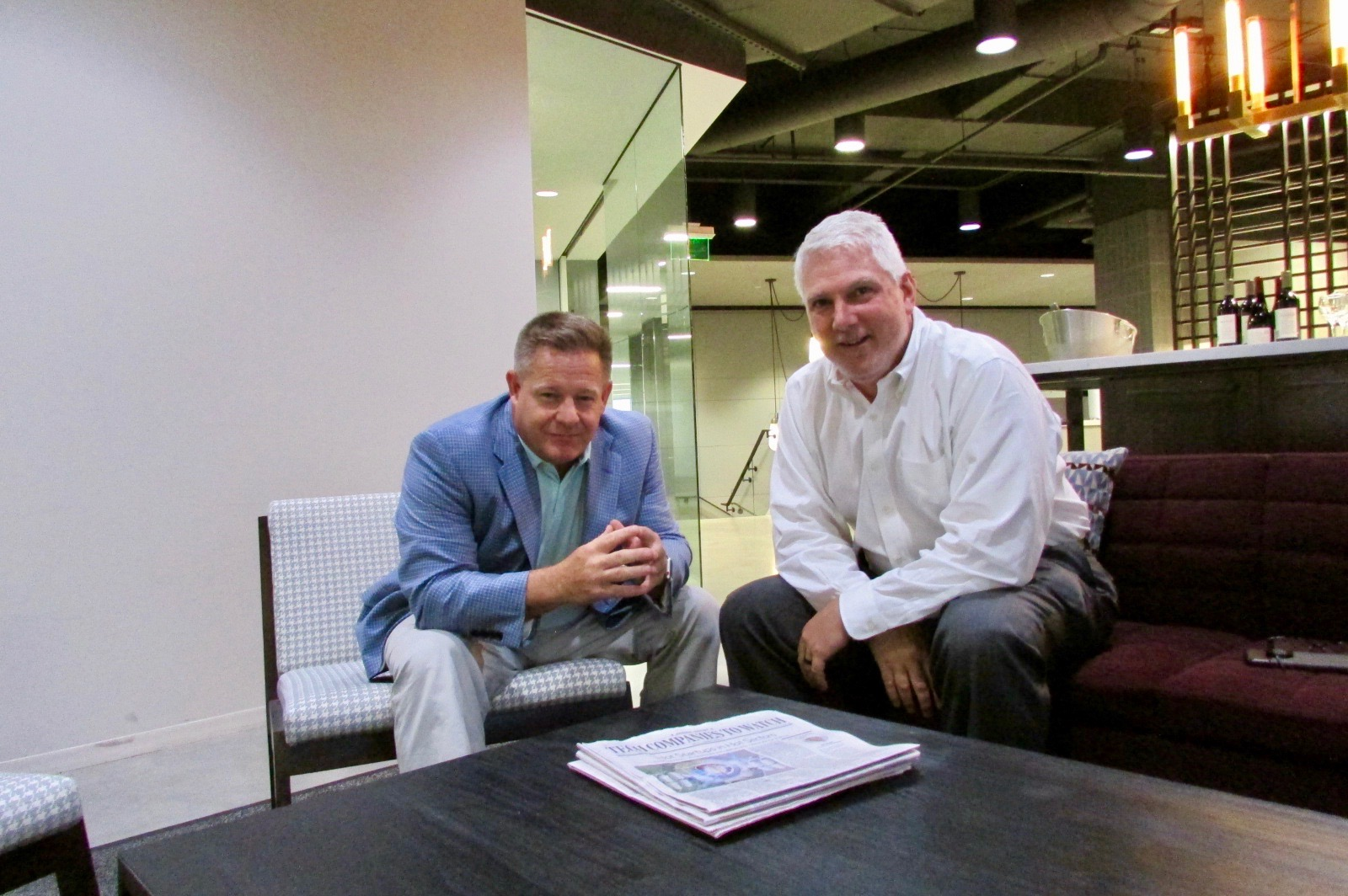 Founders, Marc Taylor (Left) and Joe English (Right), Scott Duma not pictured.