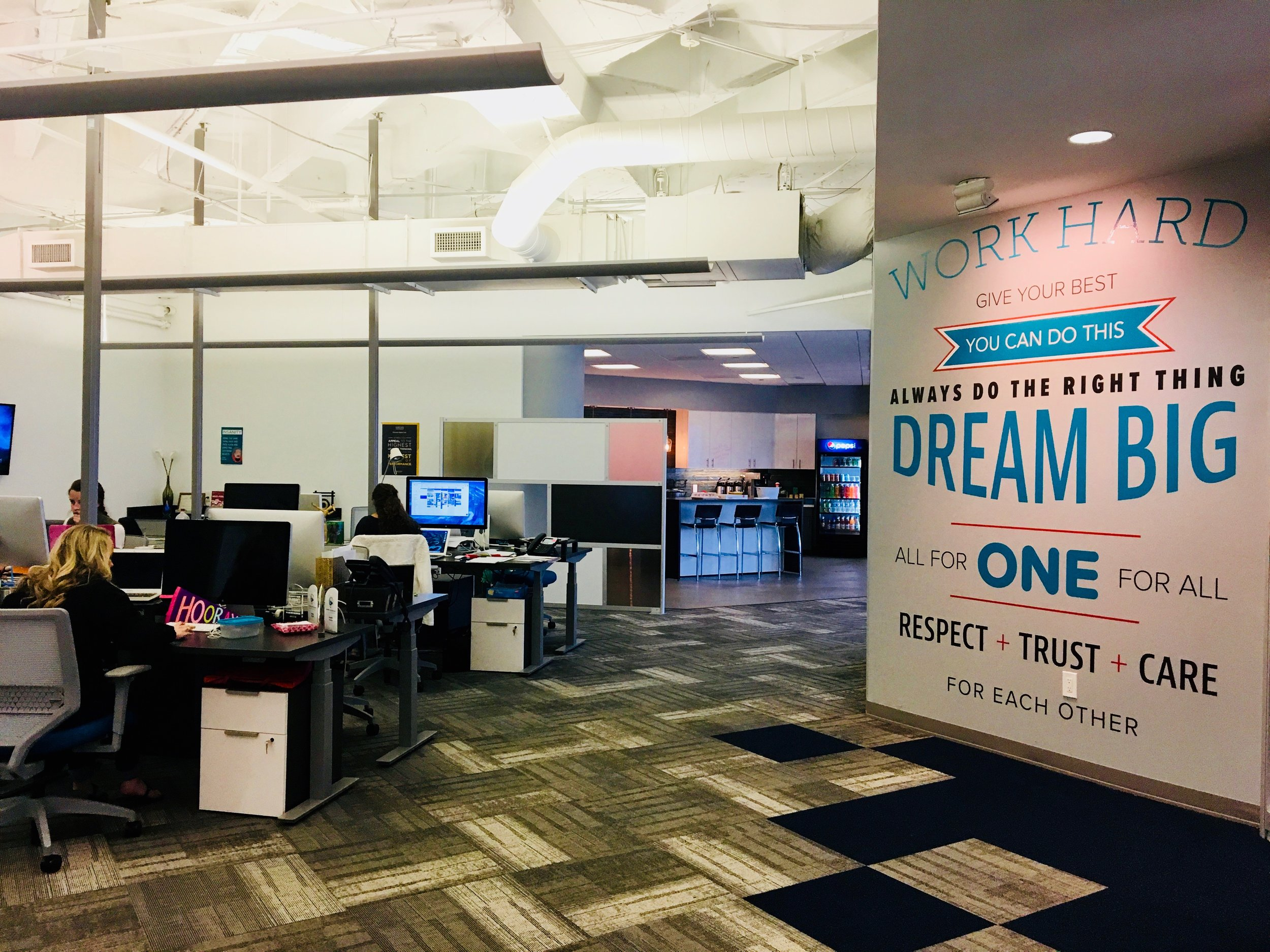 Mojo Media Labs office space.