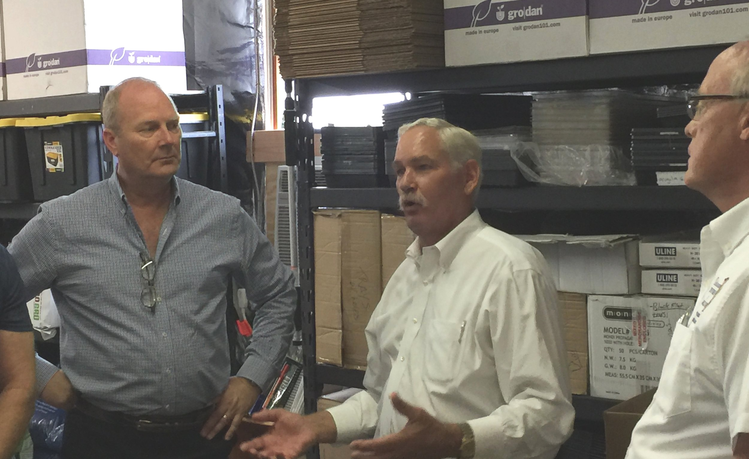 Rick Farrell & Secretary Michael Scuse
