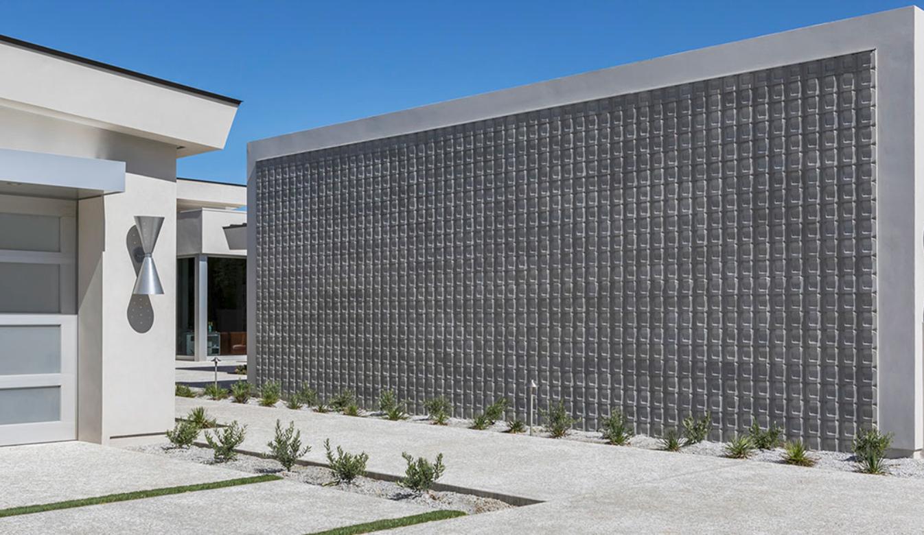 ARTO: Buckle Concrete 3D Wall Cladding