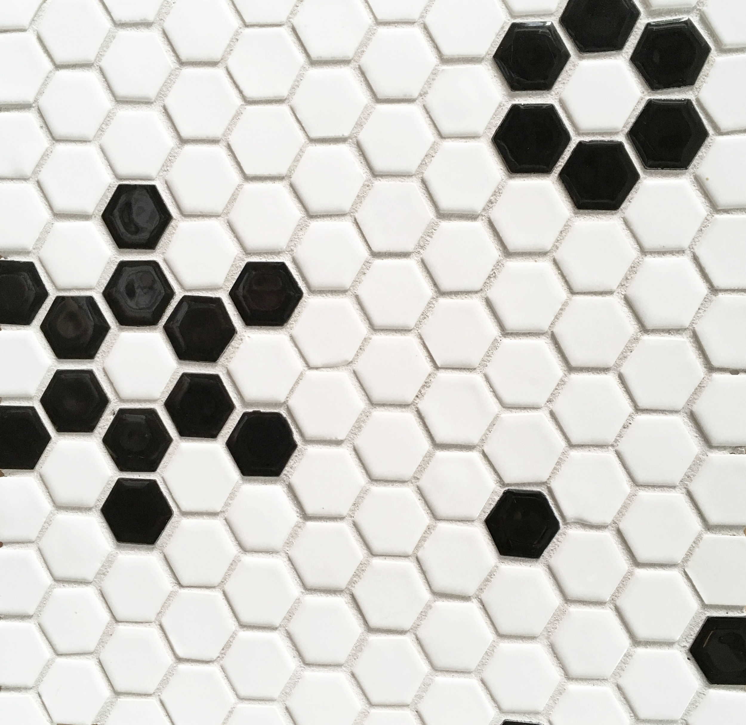 """BREAD & BUTTER: 1"""" Patterned Hex"""