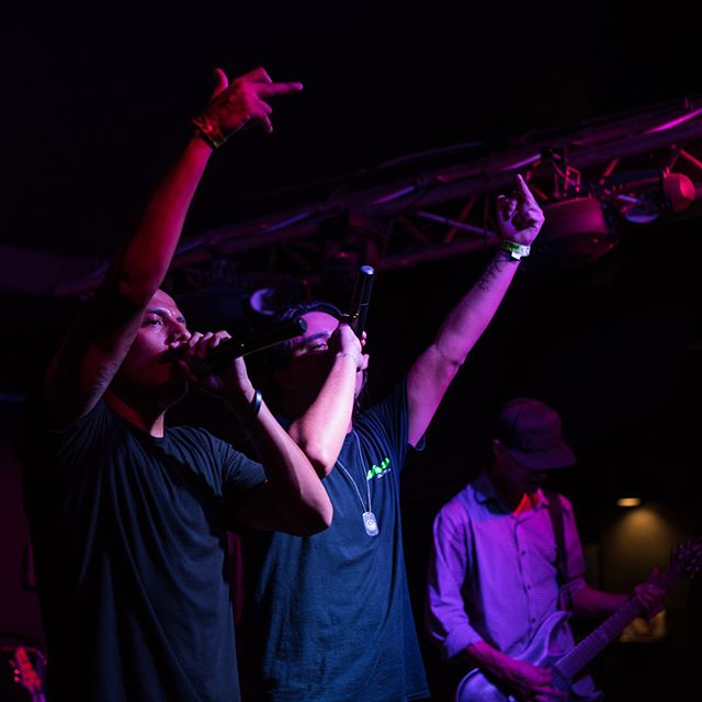 Some shots at our most recent show at the house of bards here in Tucson! #numetal #livemusic #photos #rockrap #fireglassnation #middlefingersup