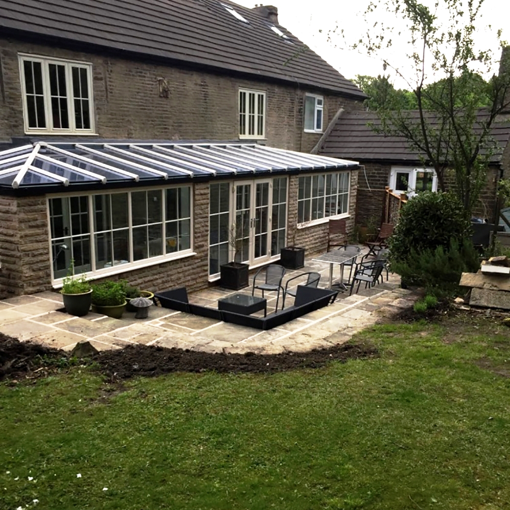 Recently completed conservatory in Cheshire, successfully ensuring the build had the same look and feel as the house.