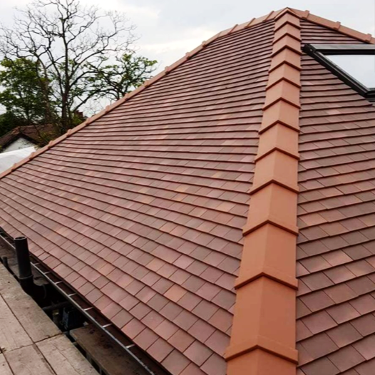 Roof installation in Altrincham;including insulation, guttering and tiling