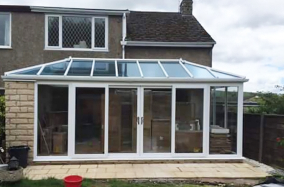 Newly built conservatory in South Manchester