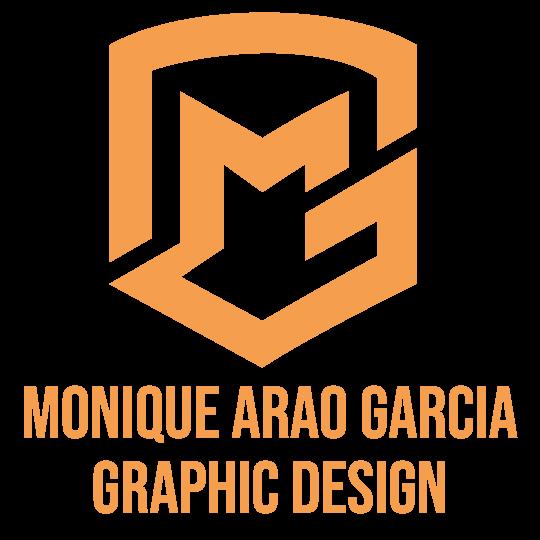Monique Arao Garcia Graphic Design Logo (Square)