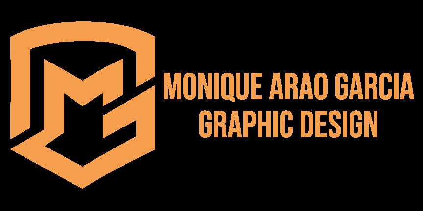 Monique Arao Garcia Graphic Design Logo (Wide/Rectangle)