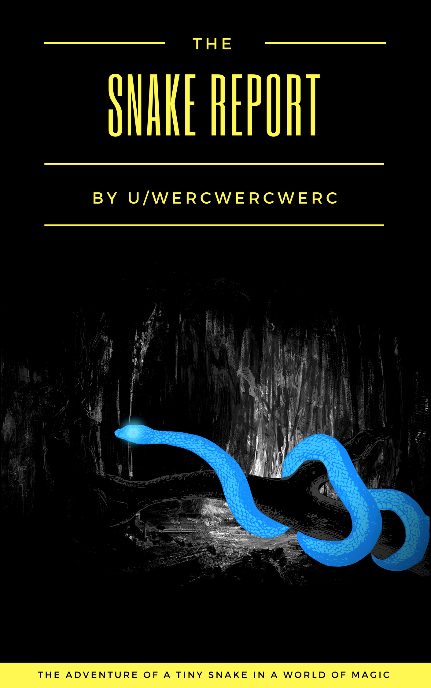 All Hail the Tiny Snake God!   - Welcome to the Snake Report, a story of reincarnation, comedy, and the winding path towards existential redemption.Sit back, relax, and read!