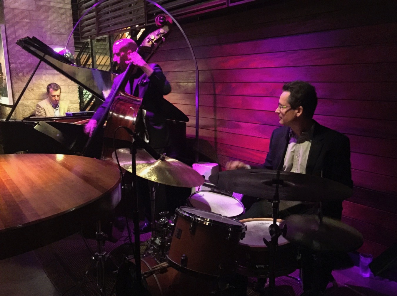 With the Matthew Fries Trio, featuring  Matthew  (piano) &  Phil Palombi  (bass)