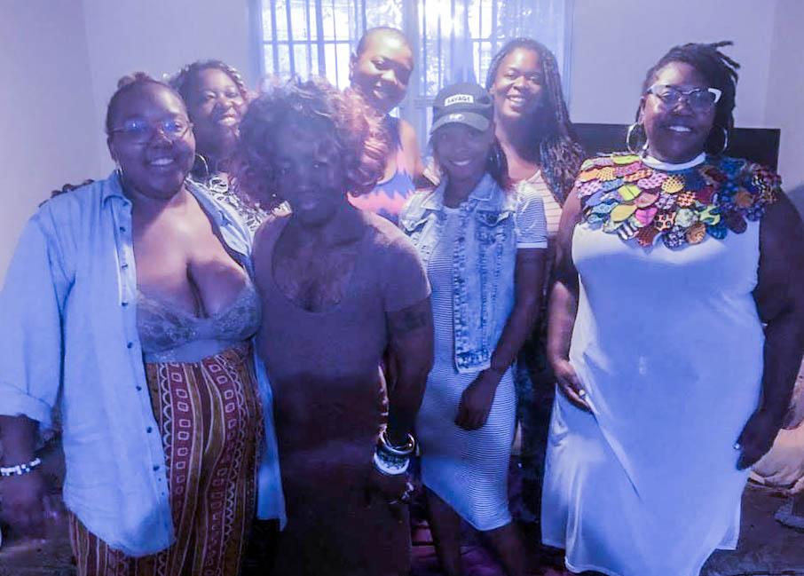 GPC Organizers + Mamas during Summer 2018 Theatre Fellowship.