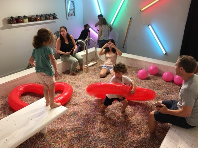 The Sprinkle Pool at the Museum of Ice Cream!
