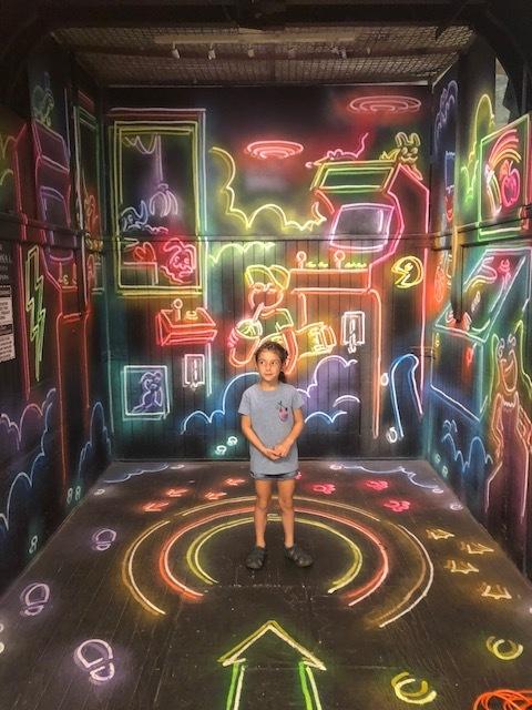 Neon Elevator