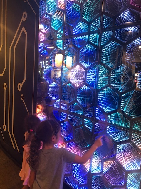 Infinite Tiles of Virtual Space