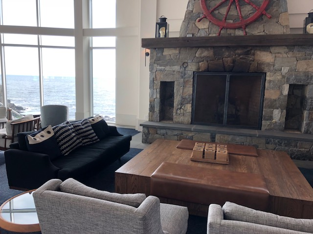 Bet that Fireplace is Amazing in Winter