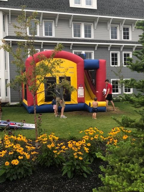 A Bouncy House!