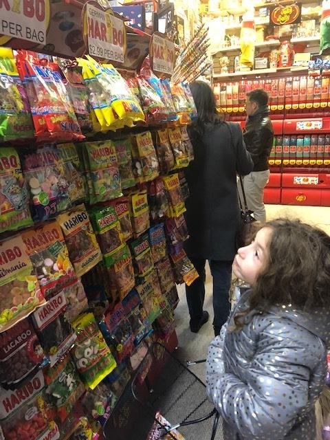 Eyeing the German Haribo Gummies