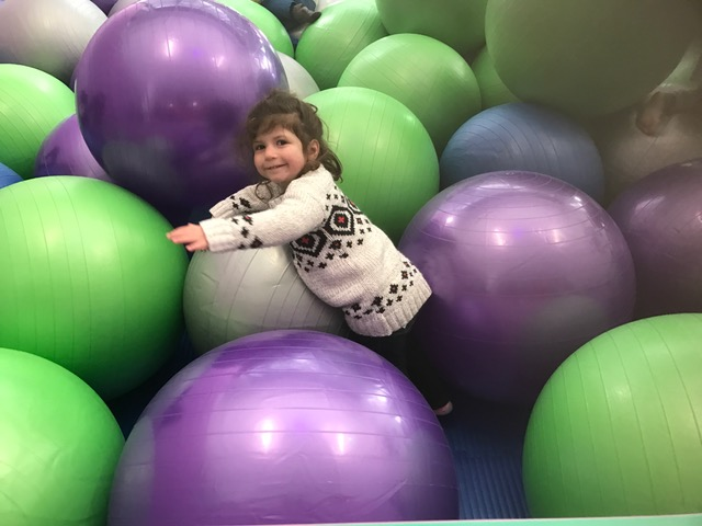 """TBT to the Giant """"Ball"""" Pit at CMA"""